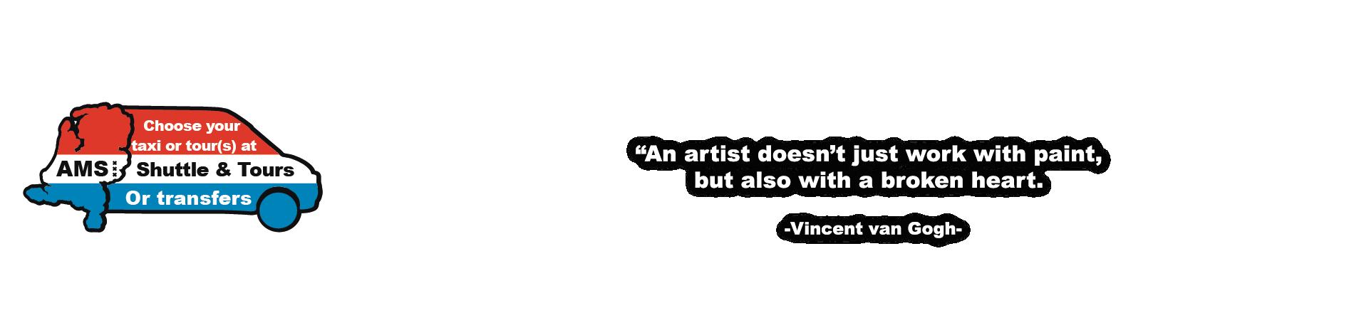 Vincent van Gogh Shuttle and Tour