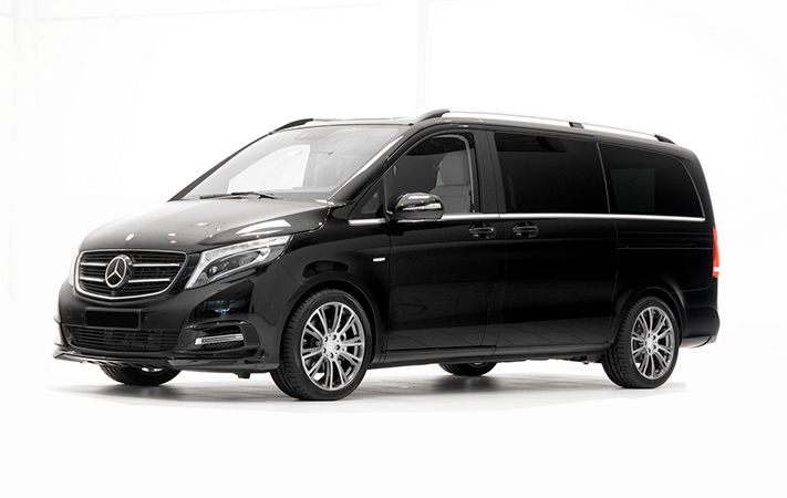 Mercedes V Class 4 to 7 people