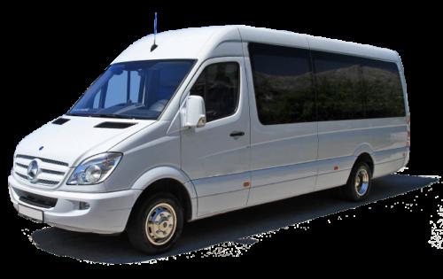 AMS airport shuttle bus